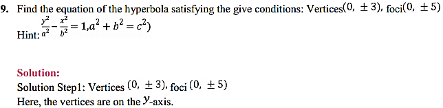 NCERT Solutions for Class 11 Maths Chapter 11 Conic Sections Ex 11.4 9