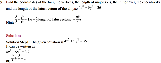 NCERT Solutions for Class 11 Maths Chapter 11 Conic Sections Ex 11.2 12