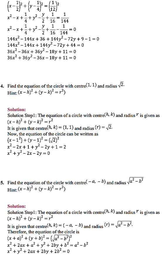 NCERT Solutions for Class 11 Maths Chapter 11 Conic Sections Ex 11.1 2