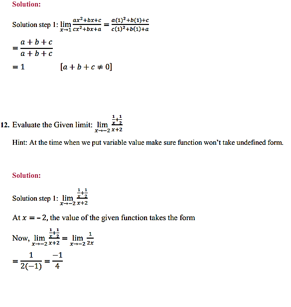 NCERT Solutions for Class 11 Maths Chapter 13 Limits and Derivatives Ex 13.1 8