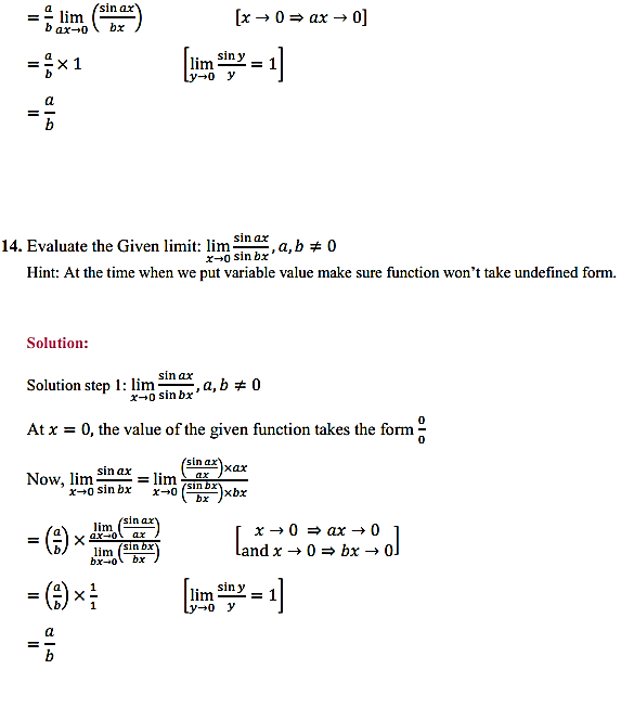 NCERT Solutions for Class 11 Maths Chapter 13 Limits and Derivatives Ex 13.1 10