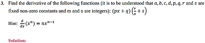 NCERT Solutions for Class 11 Maths Chapter 13 Limits and Derivatives Miscellaneous Exercise 6