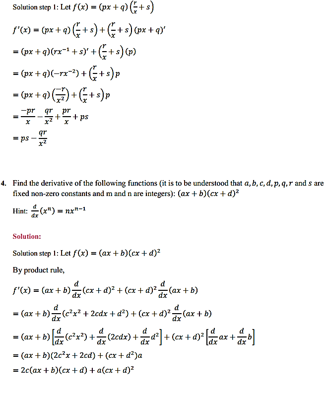 NCERT Solutions for Class 11 Maths Chapter 13 Limits and Derivatives Miscellaneous Exercise 7