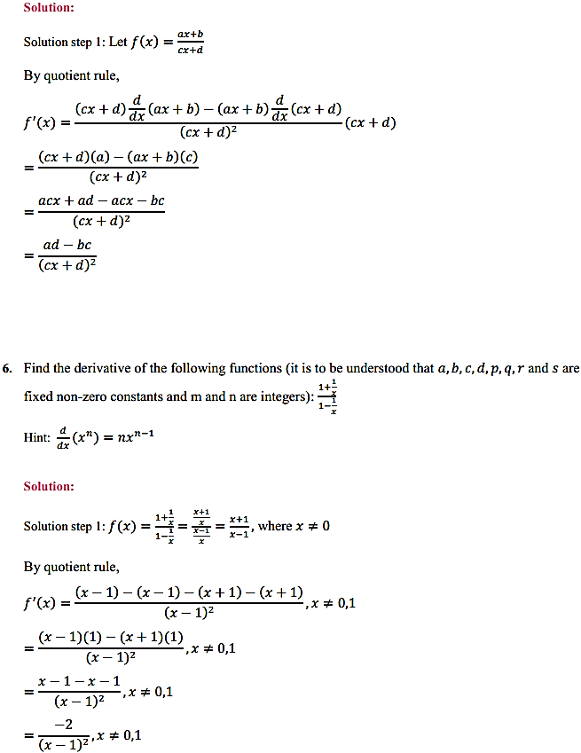 NCERT Solutions for Class 11 Maths Chapter 13 Limits and Derivatives Miscellaneous Exercise 9