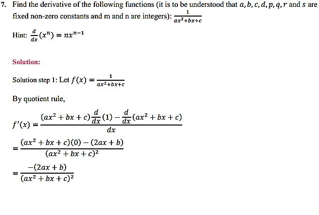 NCERT Solutions for Class 11 Maths Chapter 13 Limits and Derivatives Miscellaneous Exercise 10