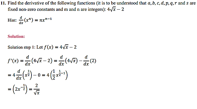NCERT Solutions for Class 11 Maths Chapter 13 Limits and Derivatives Miscellaneous Exercise 14