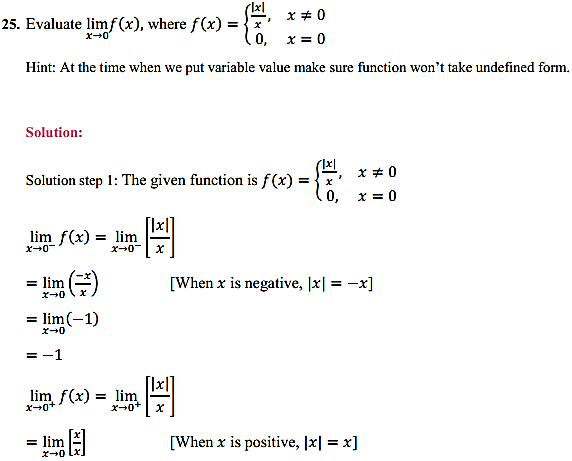 NCERT Solutions for Class 11 Maths Chapter 13 Limits and Derivatives Ex 13.1 19