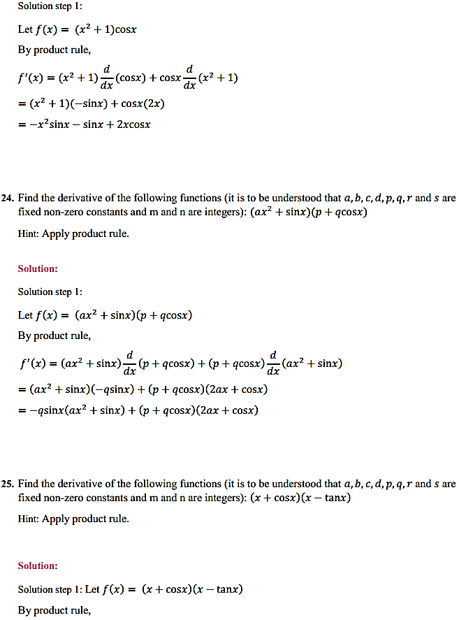 NCERT Solutions for Class 11 Maths Chapter 13 Limits and Derivatives Miscellaneous Exercise 30