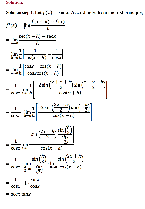 NCERT Solutions for Class 11 Maths Chapter 13 Limits and Derivatives Ex 13.2 19