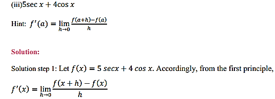 NCERT Solutions for Class 11 Maths Chapter 13 Limits and Derivatives Ex 13.2 20