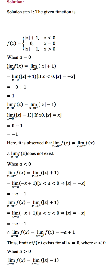 NCERT Solutions for Class 11 Maths Chapter 13 Limits and Derivatives Ex 13.1 26