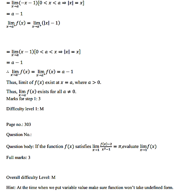 NCERT Solutions for Class 11 Maths Chapter 13 Limits and Derivatives Ex 13.1 27
