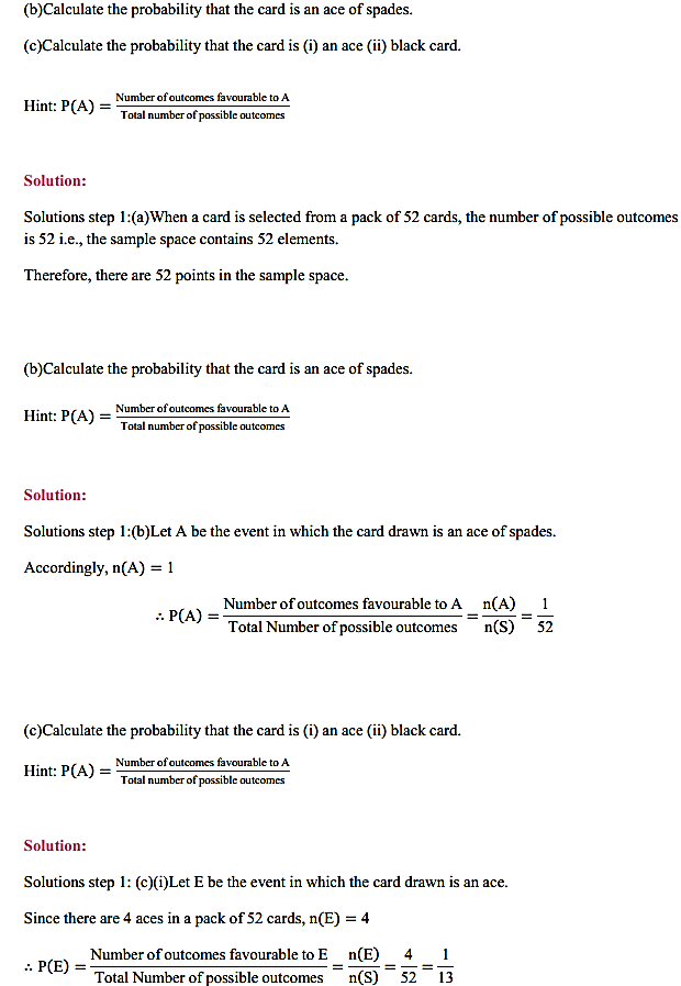 NCERT Solutions for Class 11 Maths Chapter 16 Probability Ex 16.3 8