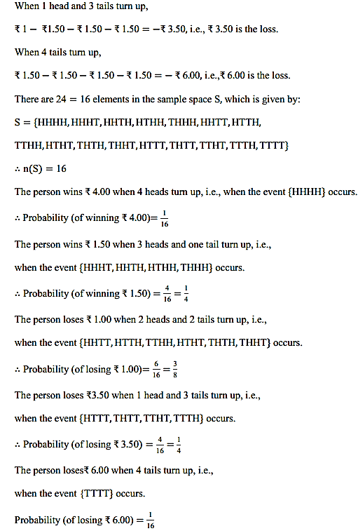 NCERT Solutions for Class 11 Maths Chapter 16 Probability Ex 16.3 11