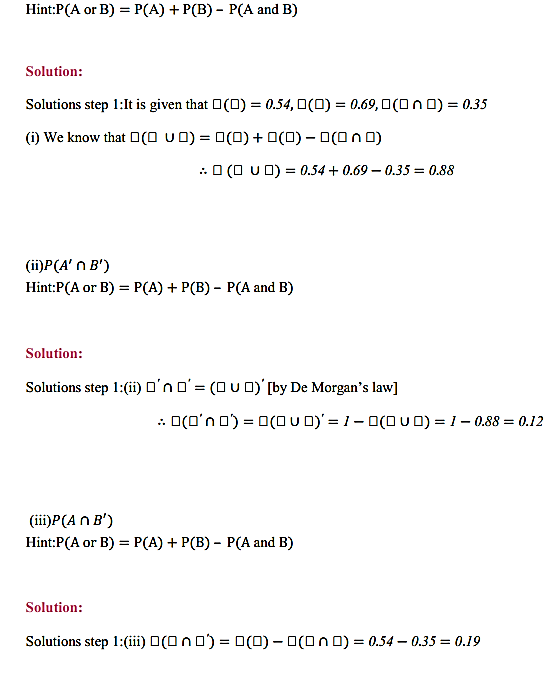 NCERT Solutions for Class 11 Maths Chapter 16 Probability Miscellaneous Exercise 8