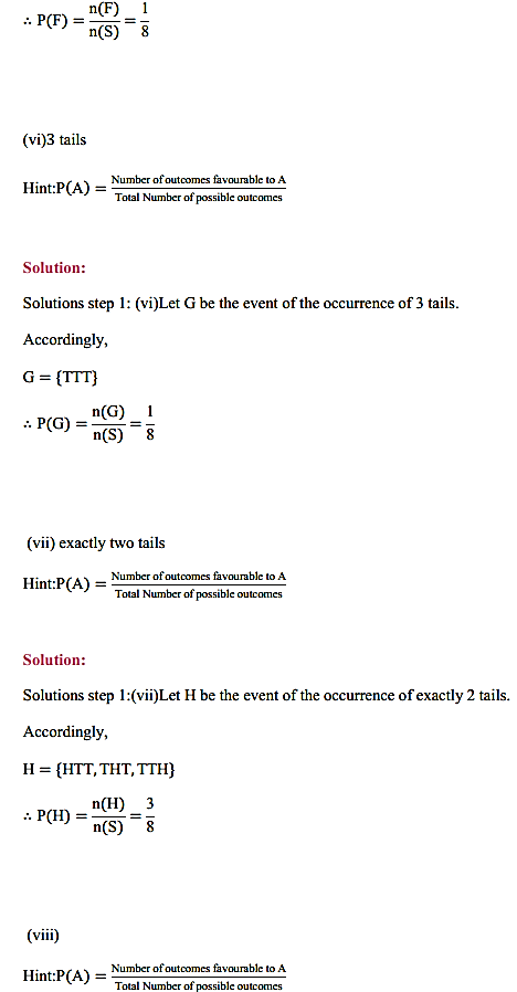 NCERT Solutions for Class 11 Maths Chapter 16 Probability Ex 16.3 15