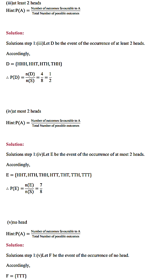 NCERT Solutions for Class 11 Maths Chapter 16 Probability Ex 16.3 20