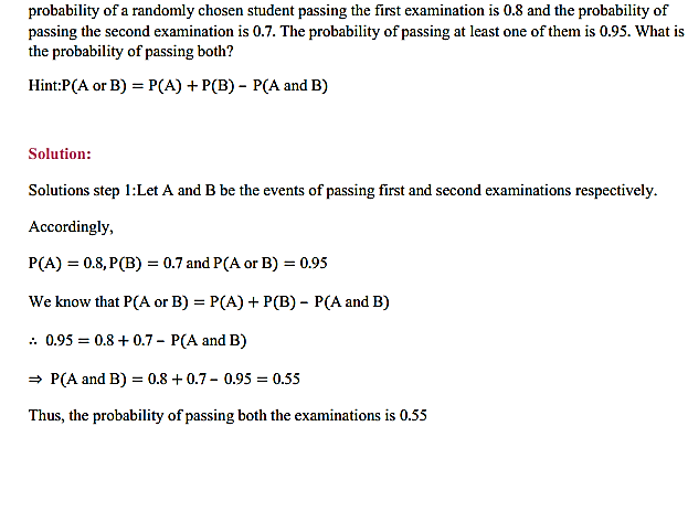 NCERT Solutions for Class 11 Maths Chapter 16 Probability Ex 16.3 26