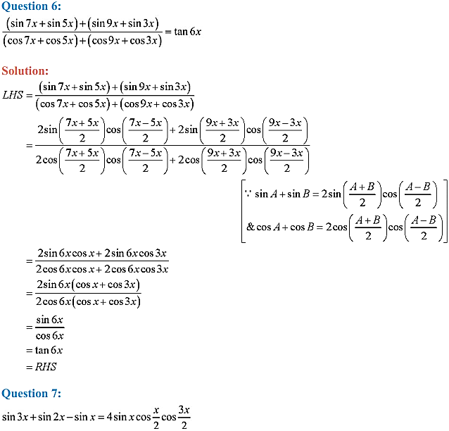 NCERT Solutions for Class 11 Maths Chapter 3 Trigonometric Functions Miscellaneous Exercise 4