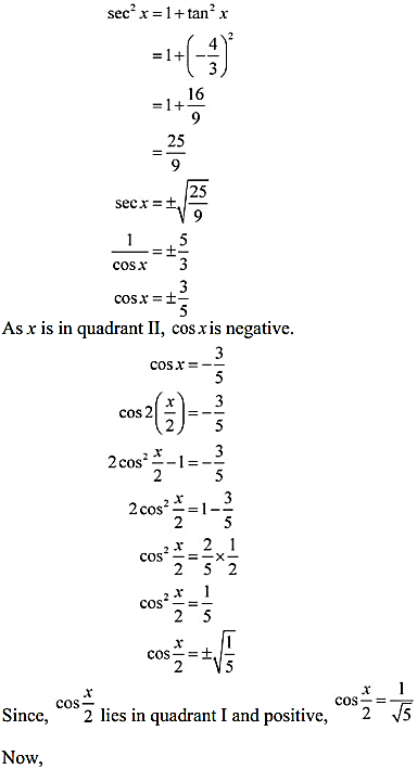 NCERT Solutions for Class 11 Maths Chapter 3 Trigonometric Functions Miscellaneous Exercise 6