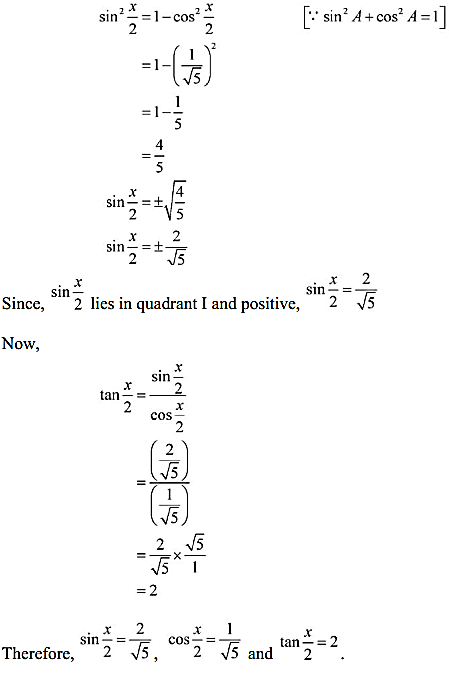 NCERT Solutions for Class 11 Maths Chapter 3 Trigonometric Functions Miscellaneous Exercise 7