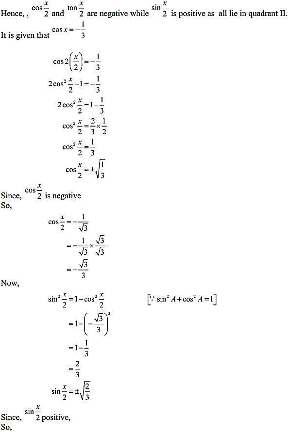 NCERT Solutions for Class 11 Maths Chapter 3 Trigonometric Functions Miscellaneous Exercise 9