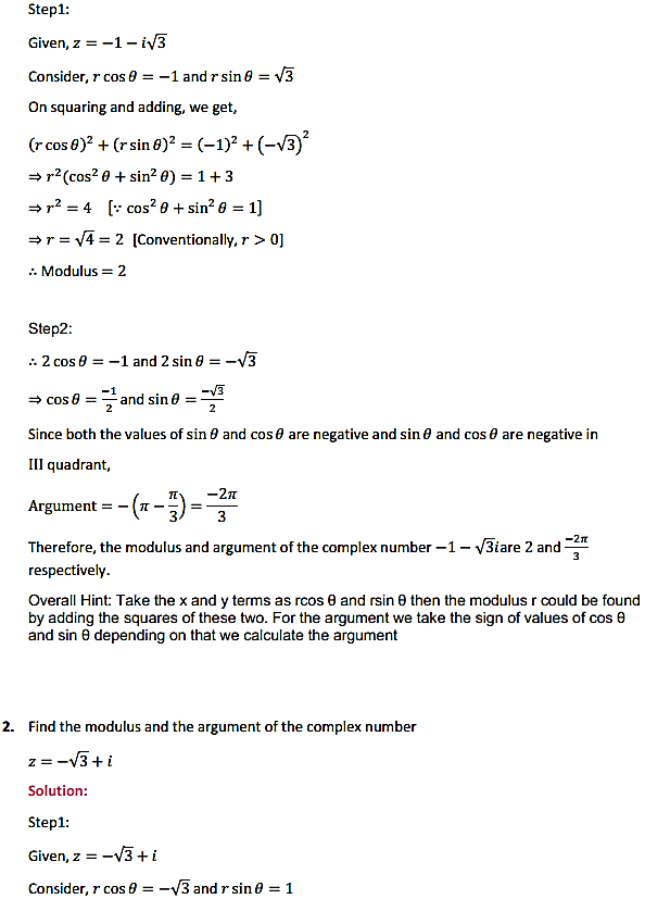 NCERT Solutions for Class 11 Maths Chapter 5 Complex Numbers and Quadratic Equations Ex 5.2 2