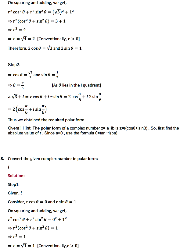 NCERT Solutions for Class 11 Maths Chapter 5 Complex Numbers and Quadratic Equations Ex 5.2 7
