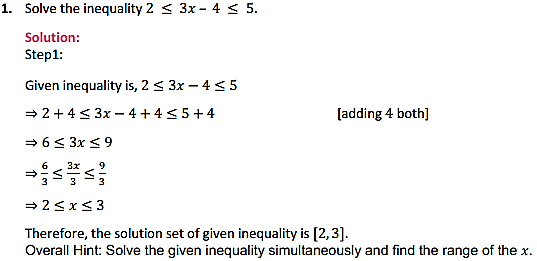 NCERT Solutions for Class 11 Maths Chapter 6 Linear Inequalities Miscellaneous Exercise 1