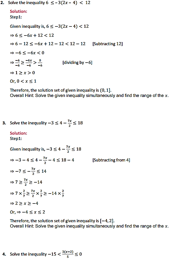 NCERT Solutions for Class 11 Maths Chapter 6 Linear Inequalities Miscellaneous Exercise 2
