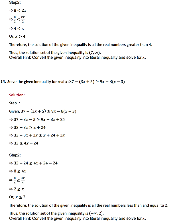 NCERT Solutions for Class 11 Maths Chapter 6 Linear Inequalities Miscellaneous Exercise 3