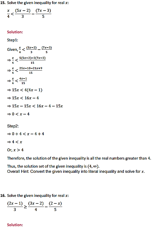 NCERT Solutions for Class 11 Maths Chapter 6 Linear Inequalities Ex 6.1 11