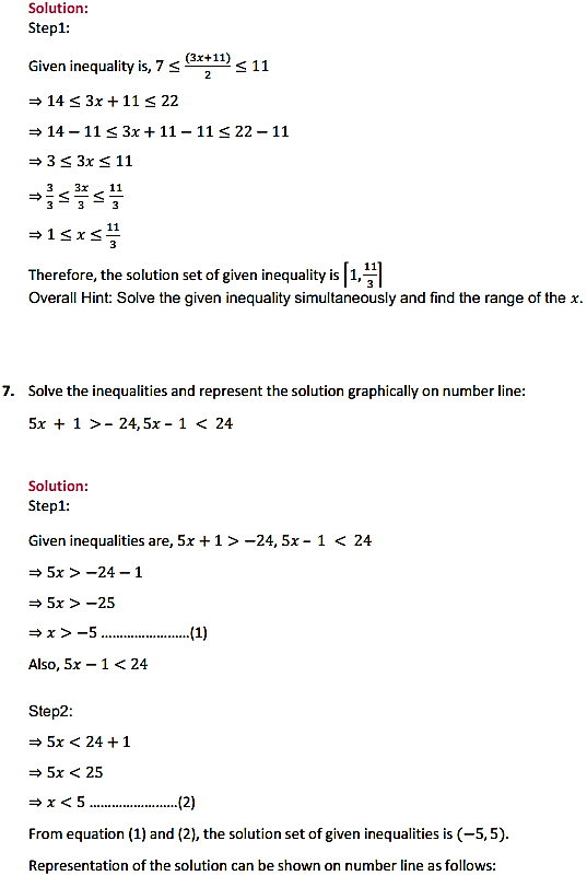 NCERT Solutions for Class 11 Maths Chapter 6 Linear Inequalities Miscellaneous Exercise 4