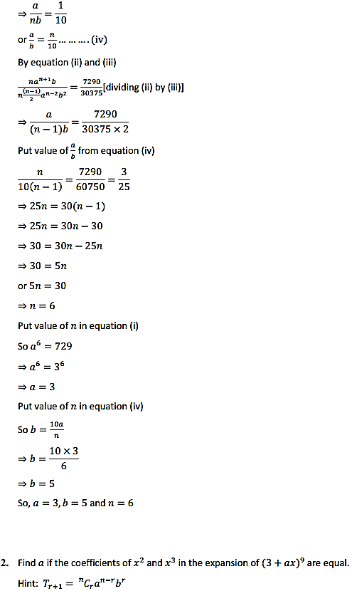 NCERT Solutions for Class 11 Maths Chapter 8 Binomial Theorem Miscellaneous Exercise 2