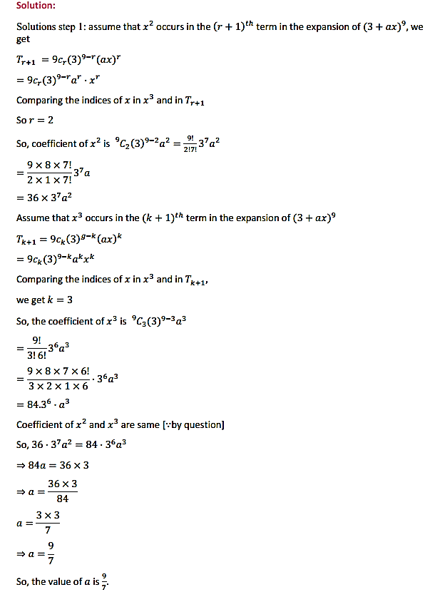 NCERT Solutions for Class 11 Maths Chapter 8 Binomial Theorem Miscellaneous Exercise 3