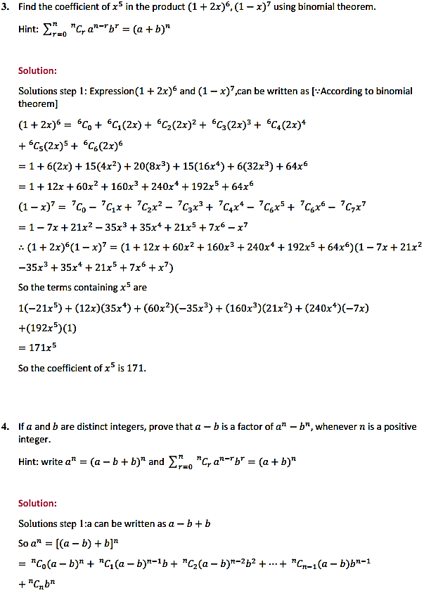 NCERT Solutions for Class 11 Maths Chapter 8 Binomial Theorem Miscellaneous Exercise 4