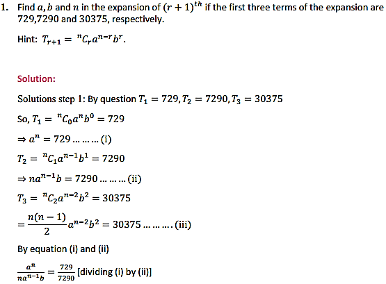 NCERT Solutions for Class 11 Maths Chapter 8 Binomial Theorem Miscellaneous Exercise 1
