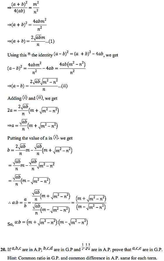 NCERT Solutions for Class 11 Maths Chapter 9 Sequences and Series Miscellaneous Exercise 28