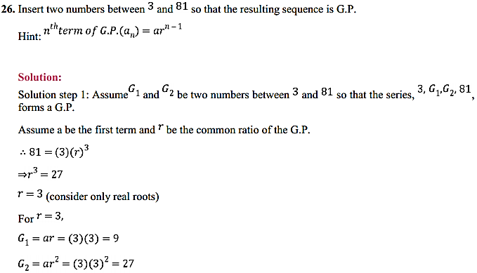 NCERT Solutions for Class 11 Maths Chapter 9 Sequences and Series Ex 9.3 32