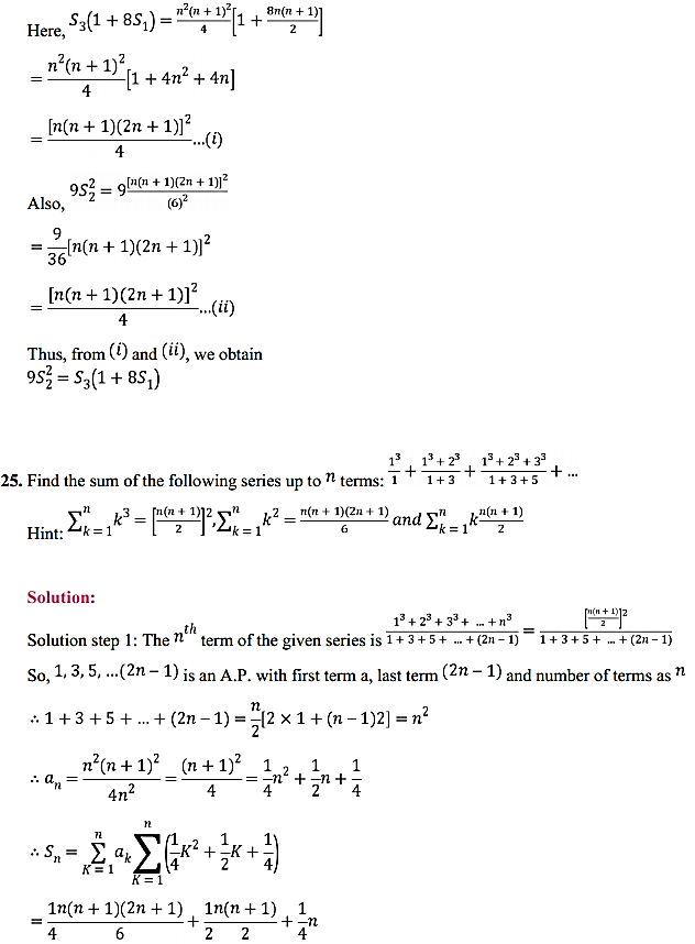 NCERT Solutions for Class 11 Maths Chapter 9 Sequences and Series Miscellaneous Exercise 37