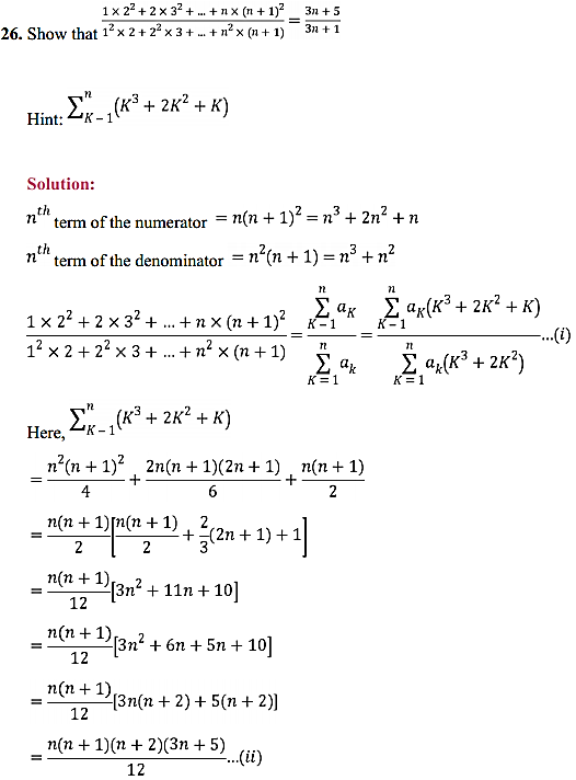 NCERT Solutions for Class 11 Maths Chapter 9 Sequences and Series Miscellaneous Exercise 39
