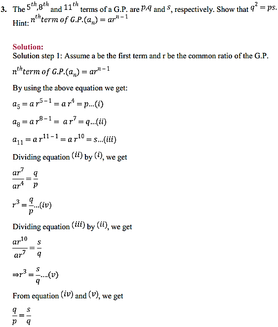NCERT Solutions for Class 11 Maths Chapter 9 Sequences and Series Ex 9.3 3