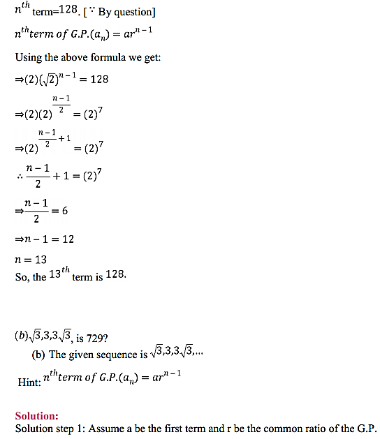 NCERT Solutions for Class 11 Maths Chapter 9 Sequences and Series Ex 9.3 6