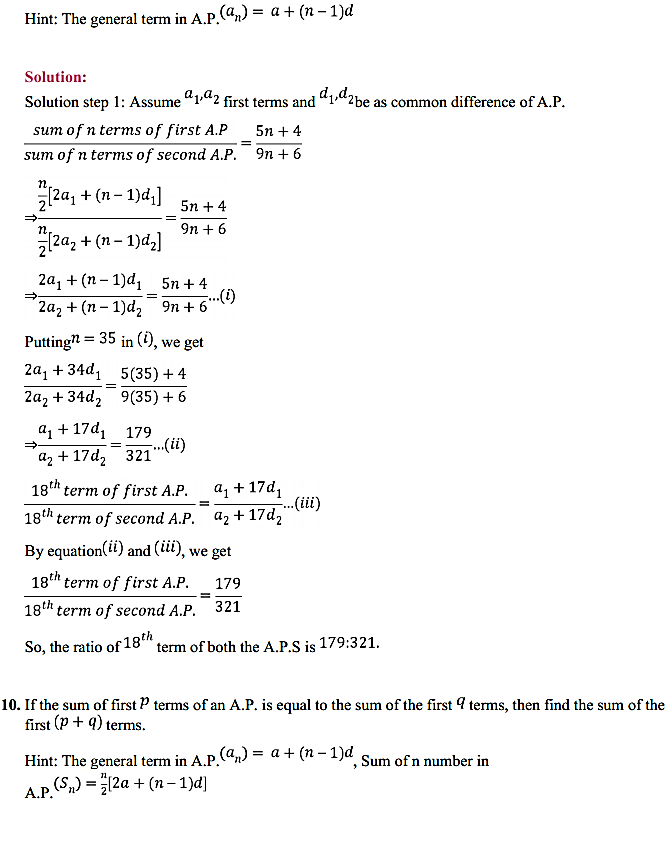 NCERT Solutions for Class 11 Maths Chapter 9 Sequences and Series Ex 9.2 11