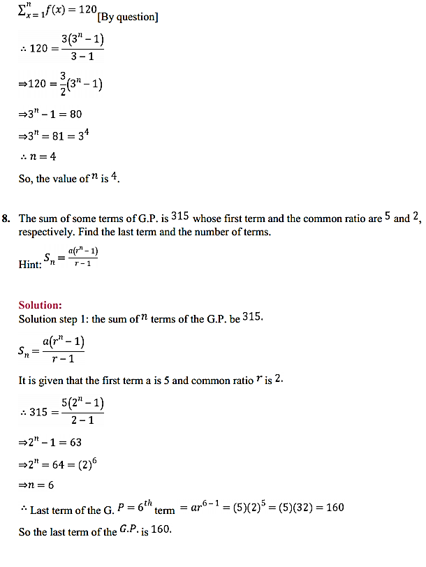 NCERT Solutions for Class 11 Maths Chapter 9 Sequences and Series Miscellaneous Exercise 11