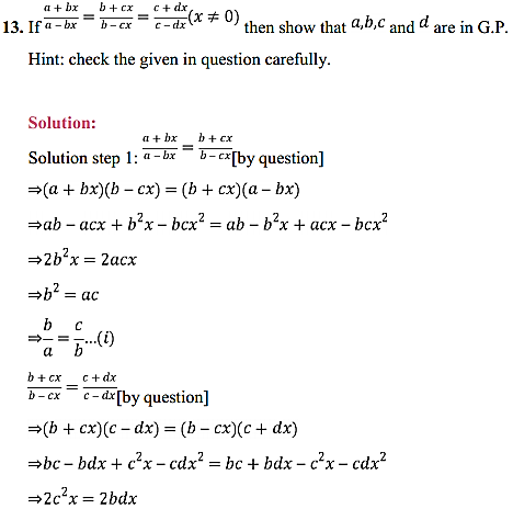 NCERT Solutions for Class 11 Maths Chapter 9 Sequences and Series Miscellaneous Exercise 18