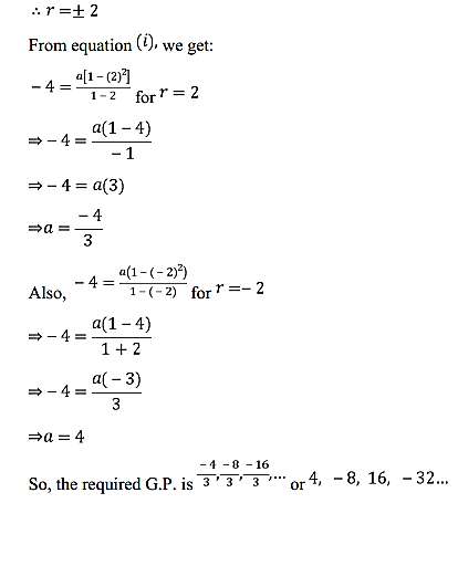 NCERT Solutions for Class 11 Maths Chapter 9 Sequences and Series Ex 9.3 19