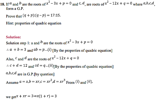 NCERT Solutions for Class 11 Maths Chapter 9 Sequences and Series Miscellaneous Exercise 25