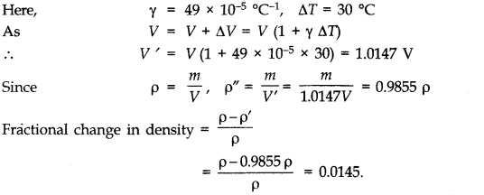 NCERT Solutions for Class 11 Physics Chapter 11 Thermal Properties of matter Q11