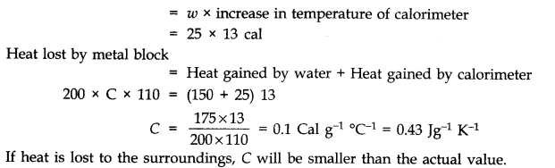 NCERT Solutions for Class 11 Physics Chapter 11 Thermal Properties of matter Q14